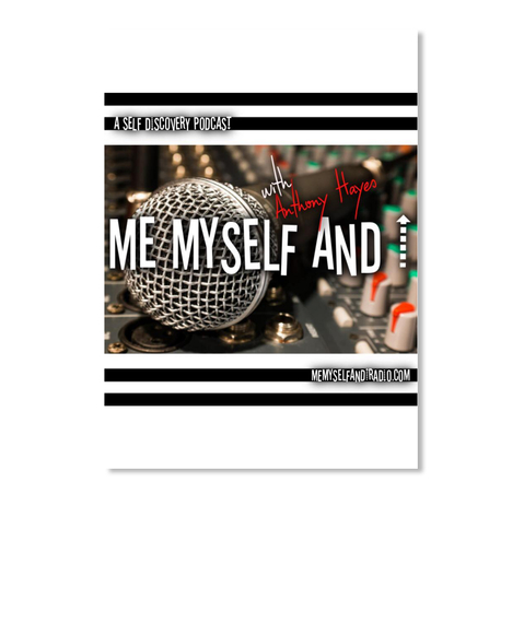 Me Myself and I Radio Podcast Sticker