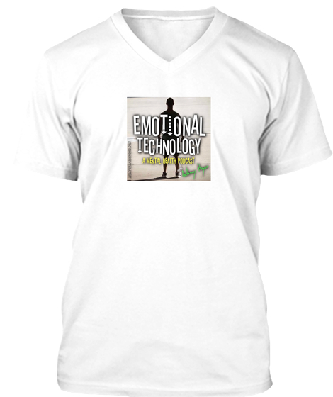 Emotional Technology V-Neck Shirt